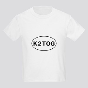 Knitting - K2TOG Kids T-Shirt