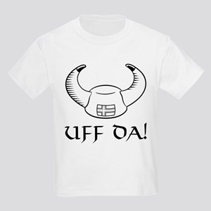 Uff Da! Viking Hat Kids Light T-Shirt