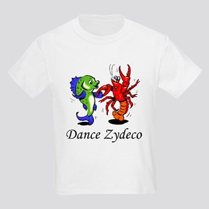 Dance Zydeco Kids Light T-Shirt