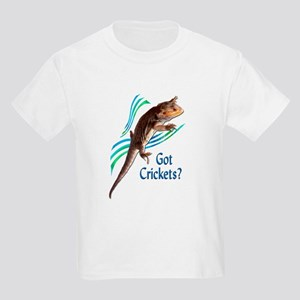 Bearded Dragon Got Crickets 3 Kids Light T-Shirt