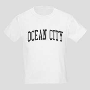 Ocean City New Jersey NJ Black Kids Light T-Shirt