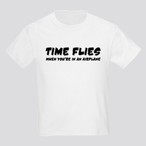 Time Flies Kids Light T-Shirt