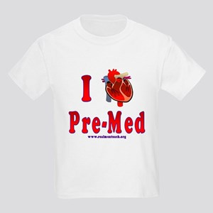 I Love Pre-Med Kids Light T-Shirt