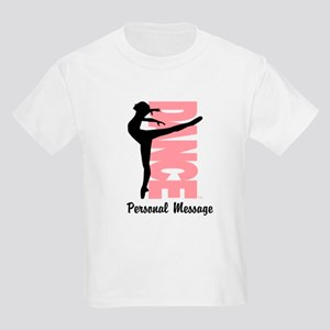 Personalized Beautiful Dancer Kids Light T-Shirt