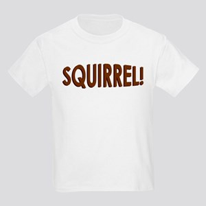 Squirrel On My Back Kids Light T-Shirt