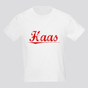 Haas, Vintage Red Kids Light T-Shirt