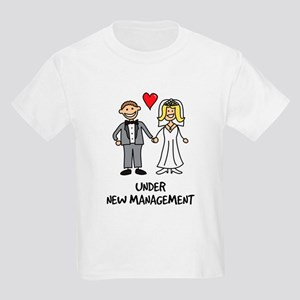 Under New Management - Wedding Kids Light T-Shirt