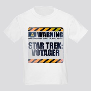 Warning: Star Trek: Voyager Kids Light T-Shirt