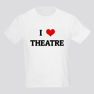 I Love THEATRE Kids Light T-Shirt