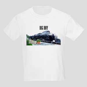 UP Big Boy Steam Engine Kids Light T-Shirt