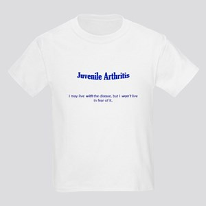 Living with Juvenile Arthritis Kids Light T-Shirt