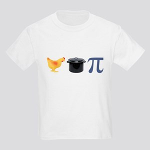 Chicken Pot Pi Pie Kids Light T-Shirt