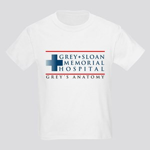 Grey Sloan Memorial Hospital Kids Light T-Shirt