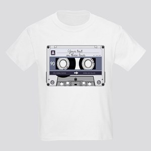 Customizable Cassette Tape - Gr Kids Light T-Shirt