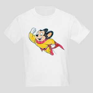 Vintage Mighty Mouse Kids Light T-Shirt