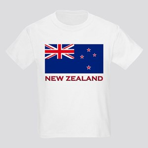 Flag of New Zealand Kids T-Shirt