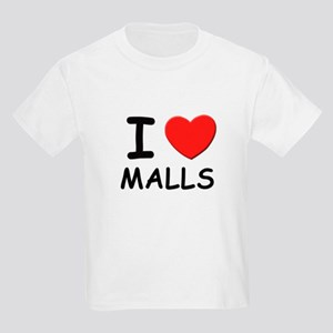 I love malls Kids T-Shirt