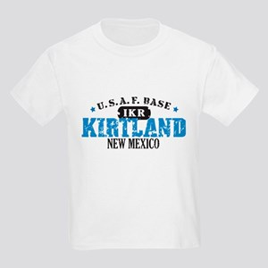 Kirtland Air Force Base Kids Light T-Shirt