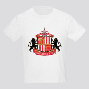 Vintage Sunderland AFC Crest Kids Light T-Shirt