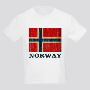 Vintage Norway Kids Light T-Shirt