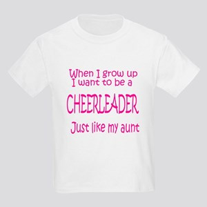CheerBaby...just like Aunt Kids T-Shirt