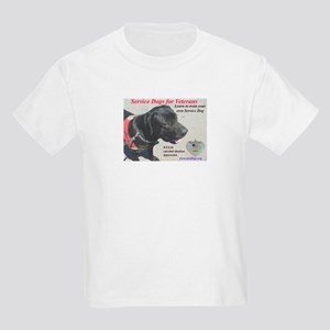 SERVICE DOGS Kids Light T-Shirt