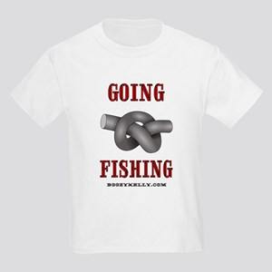 Going Fishing Kids Light T-Shirt