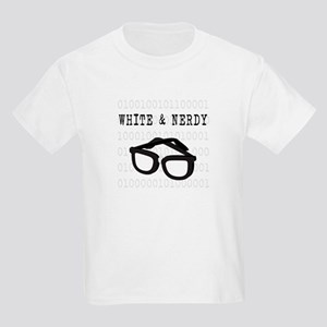 White & Nerdy Kids Light T-Shirt