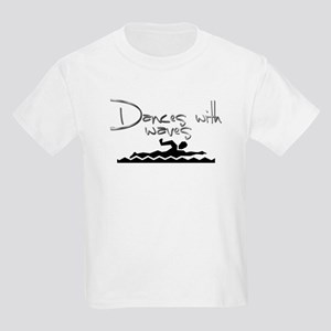 Dances with Waves Kids Light T-Shirt