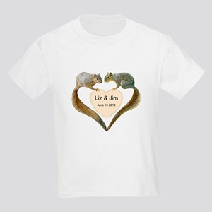 Love Squirrels Kids Light T-Shirt