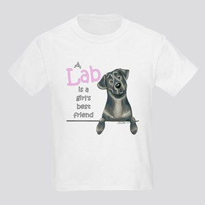 Black Lab BF Kids Light T-Shirt
