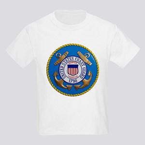 USCG Emblem Kids Light T-Shirt