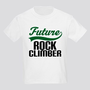 Future Rock Climber Kids Light T-Shirt