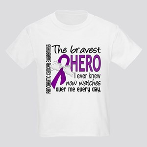 Bravest Hero I Knew Pancreatic Cancer Kids Light T