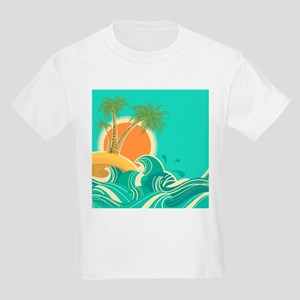 Vintage Tropical Island T-Shirt