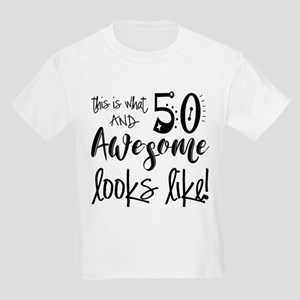 Awesome 50 Years Old Kids Light T-Shirt
