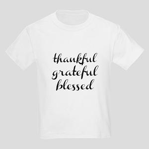 79f7eb9e8 Grateful Thankful Blessed T-Shirts - CafePress