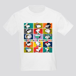 Snoopy-You Can Be Anything Kids Light T-Shirt