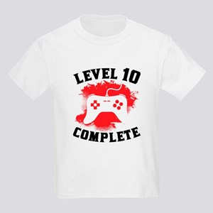 Level 10 Complete 10th Birthday T Shirt