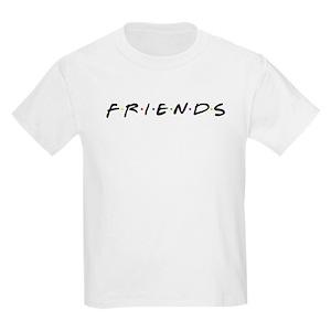 70f86092f Friends TV Show Kids T-Shirts - CafePress
