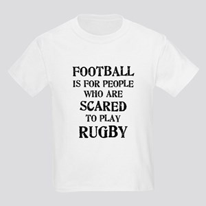 Rugby vs. Football 2 Kids Light T-Shirt