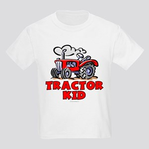 Red Tractor Kid Kids Light T-Shirt