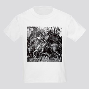 Knight & Devil Durer 1471-1528 Kids Light T-Shirt