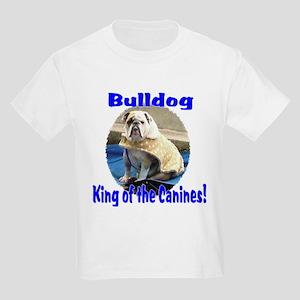 English Bulldog Peace Kids T-Shirts - CafePress