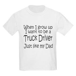 5f873ad6 Truck Driver Kids T-Shirts - CafePress