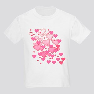 Sprinkle of Hearts Kids Light T-Shirt