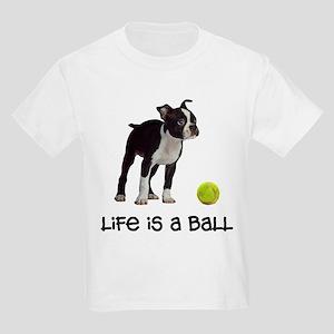 853c62d1 Boston Terrier Life Kids Light T-Shirt