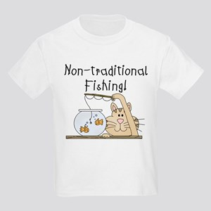 Non-Traditional Fishing Kids Light T-Shirt