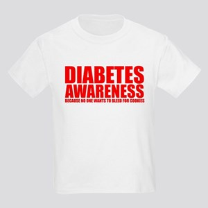 Diabetes Awareness Kids Light T-Shirt