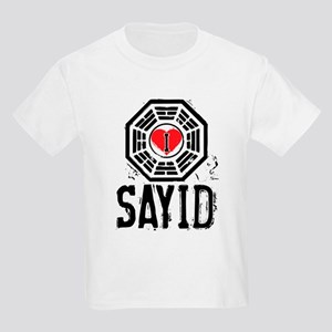 I Heart Sayid - LOST Kids Light T-Shirt